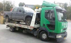 מגרש פירוק רכב בקריית אונו