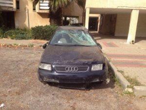 מגרש פירוק רכב בתל אביב